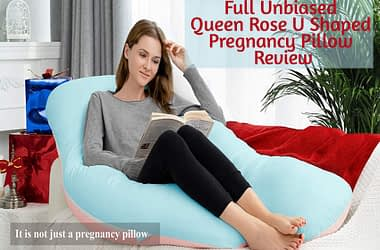 Queen Rose U Shaped Pregnancy Pillow Review