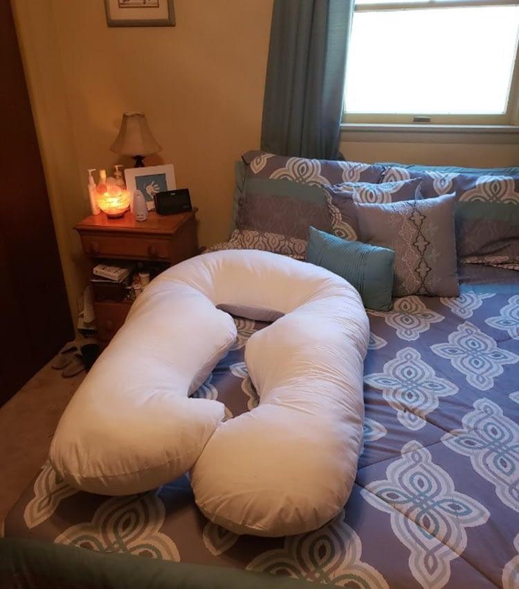 Amazon Leachco Back N Belly Pregnancy Pillow U Shaped Review