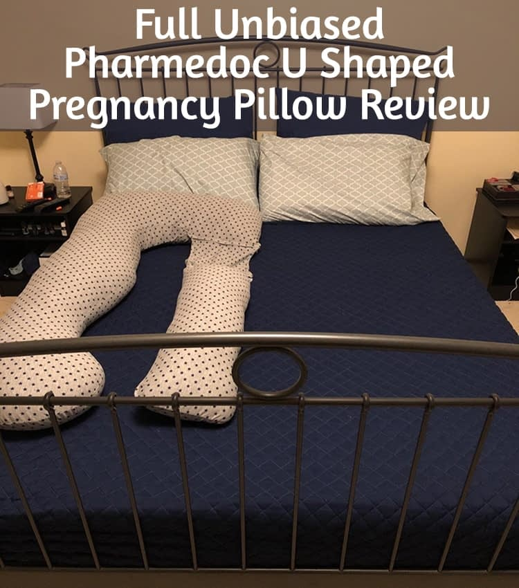 Pharmedoc U Shaped Pregnancy Pillow Review