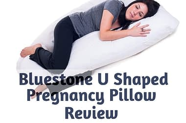 Bluestone Full Body U Shaped Pregnancy Pillow Review